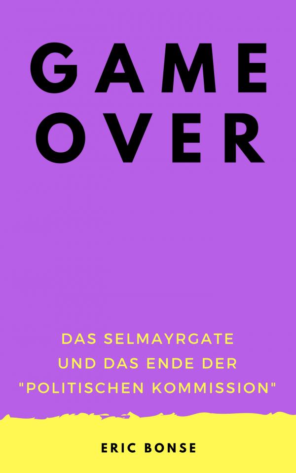 """Cocer Game over 600x957 - Game over - Das Selmayrgate und das Ende der """"Politischen Kommission"""""""