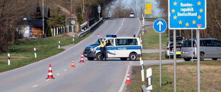 Coronavirus · Grenzübergang Deutschland - Österreich